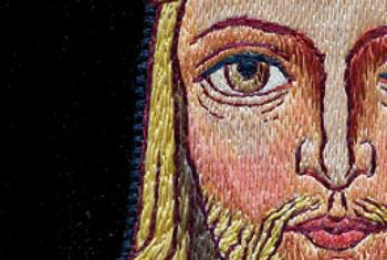 """Vergrößerung Messgewand """"Christus König"""""""